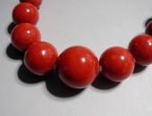 K14WG血赤珊瑚ネックレス (2)