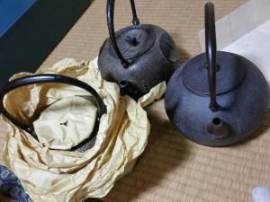 2017.06.06mito(鉄瓶)#買取り#骨董品#遺品整理#茶道具