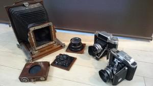 2017.07.23akita(古いカメラ)#買取り#蛇腹カメラ