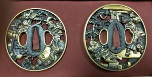 2017.08.03kooriyama(骨董品)#日本刀鍔#買取り#古物全般