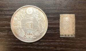 一圓銀貨・一分銀_くらや松戸店