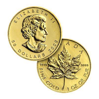 メープル リーフ 金貨