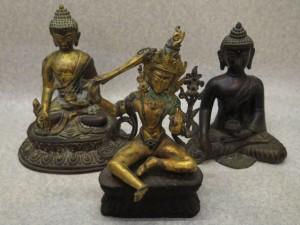 遺品整理 チベット仏像 文殊菩薩 マンジュシュリー - 買取専門店 くらや太田店