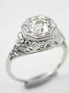 アンティークダイヤモンド_antique diamond ring 指輪 買取り - 買取専門店 くらや松戸店