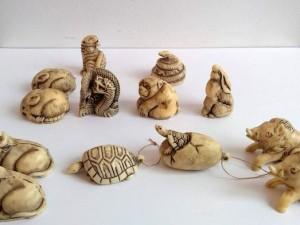 骨董品 根付 彫刻 装飾美術品 買取り 買取専門店 くらや松戸店